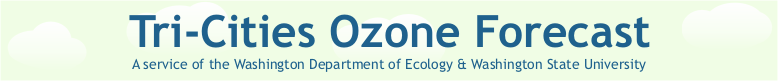 Tri-Cities Ozone Forecast
